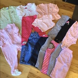 Girls 9 Months Clothing Lot